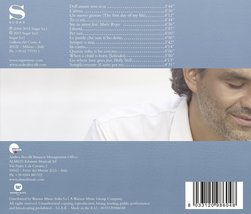 Andrea by Bocelli, Andrea Cd image 2