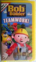 Bob the Builder - Teamwork Vhs image 1