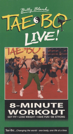 Billy Blanks' Tae Bo Live!: 8 Minute Workout Vhs