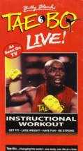 Tae Bo Live! Instructional Workout Vhs image 1
