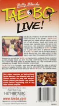 Tae Bo Live! Instructional Workout Vhs image 2