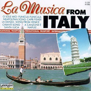 La Musica From Italy By Bruno Bertone Orchestra Cd