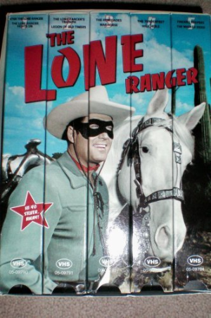 The Lone Ranger - Collector 5 Series - Clayton Moore Vhs