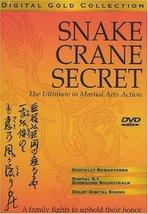 Snake and Crane Secret Dvd image 1