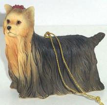 Yorkie Yorkshire Terrier Ornament Christmas Tree Figurine Dog Holiday - $19.95