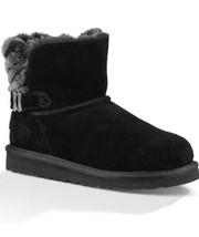 NIB UGG Girls' Analia Boots SZ 5m Black Original >$160 - $109.89