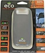 Eco Survivor Power Failure Light LED 4 in 1 Emergency Light & Night Ligh... - $12.86