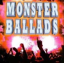 Monster Ballads by Various Artists CD