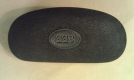 8P28  SEE Italy Over Sized/Large Black Suede? Eyeglass Case  EXC COND !! - $34.77