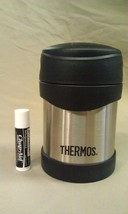"8P22  Vtg Thermos Thermax Stainless Steel 5 1/2"" Tall Soup/Food/Coffee - $24.77"
