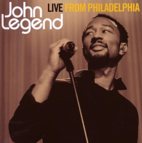 Live from Philadelphia by John Legend Cd