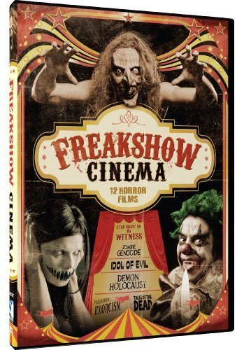 Freak Show Cinema - 12 Movie Set Dvd