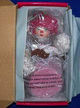 Marie Osmond Doll Chocolate Raspberry w/ necklace - MINT! - $67.31