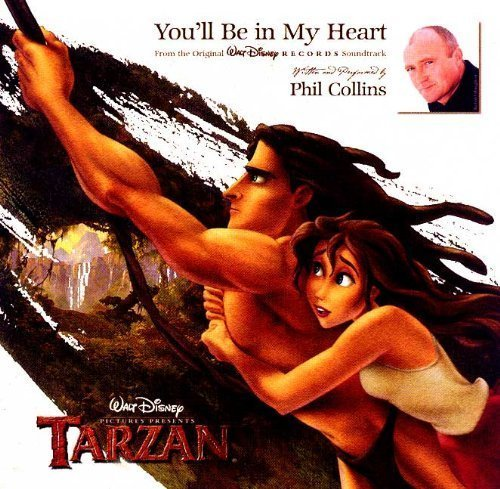 You'll Be in My Heart by Phil Collins Cd