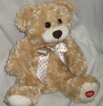 Light Brown Teddy Bear My M&M'S with Polka Dot Bow 9 Inches Mars Candy P... - $18.90