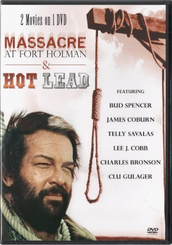 Massacre At Fort Holman & Hot Lead (2 Movies) Dvd