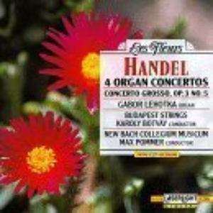 4 Organ Concertos by Handel Cd