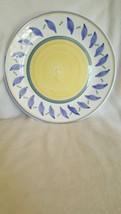 "WILLIAMS SONOMA Tournesol 13 7/8"" Chop Plate Round Platter  ITALY - $25.73"