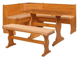 Breakfast Kitchen Nook Solid Wood Seat Dining C... - $86.75