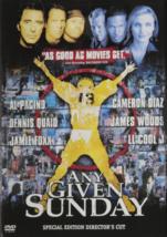 Any Given Sunday Dvd image 1