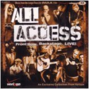 All Access - Front Row Backstage Cd