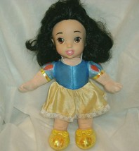 "12"" DISNEY SNOW WHITE PRINCESS STUFFED ANIMAL PLUSH TOY DOLL FISHER PRIC... - $13.10"