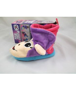 New Toddler Girl Slippers Booties Monkey Puppet Pal Sizes 8/9 10/11 Box  - £8.79 GBP
