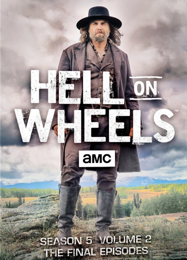 Hell on Wheels The Fifth Season 5 Volume Two 2 THE FINAL EPISODES (DVD, 2-Disc)