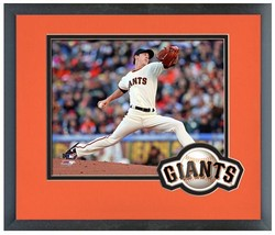 "11"" x 14"" Framed & Matted Tim Lincecum San Francisco Giants- Studio Phot... - $43.95"