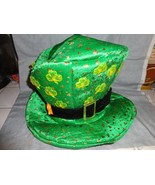 ST PATRICKS DAY LIGHT UP CLOVER LEPRECHAUN HAT ADULT ONE SIZE FITS MOST  - $17.77