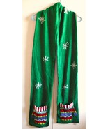 """winter scarf Green with 2 pockets 88"""" Long - $32.85"""