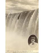 Bobby Leach Niagra Falls Daredevil vintage 1911 Post Card - $15.00