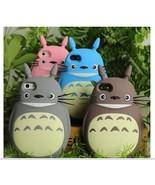 3D cute Cartoon Animals Totoro soft silicone case For Iphone 4 4s 5 5s 6 6 plus - $9.99