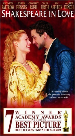 Shakespeare in Love Vhs