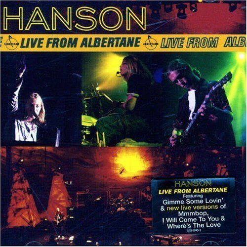 Live from Albertane by Hanson Cd