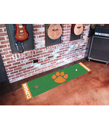 CLEMSON UNIVERSITY GOLF PUTTING GREEN MAT, FAN MATS - $35.00