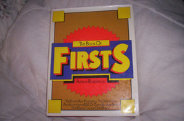 The Book of Firsts - $25.00