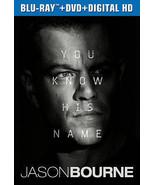 Jason Bourne (2016)--DVD Only***Please Read Full Listing*** - $15.00