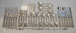 Foxhall by Watson Sterling Silver Regular 96 piece Flatware set for 12 - NoMon - $4,700.00