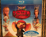 The Tale of Despereaux (Blu-ray, 2009)+Embossed Slipcover.Kate Dicamillo/Emma Wa