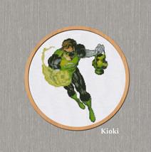 Cross Stitch Pattern Green Lantern - $5.00