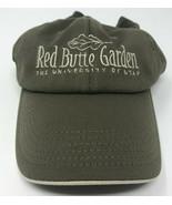 Red Butte Garden Hat University of Utah OSFA Strapback Baseball Cap Oliv... - $12.73