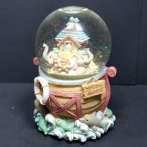 The San Francisco Music Box Company Matthew Danko Noah's Ark Snow Globe  - $11.39
