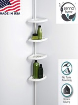 Shower Corner Caddy Bathroom Shelf Space Saver ... - $26.68