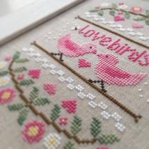 Lovebirds cross stitch chart Country Cottage Ne... - $5.40