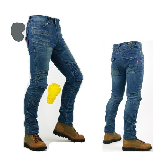 Men Fashion Professional Motorcycle Pants Casual Trousers Jeans Riding Pants image 5