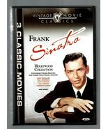 FRANK SINATRA *3 CLASSIC MOVIES* SUDDENLY~MAN WITH GOLDEN ARM~ TILL CLOU... - $3.00