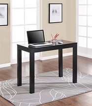 Study Desk With Drawer Black Organize Office Light Weight Entryway Decor... - $84.98