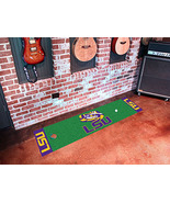 LSU Golf Putting Green Mat, Fan Mats - $35.00