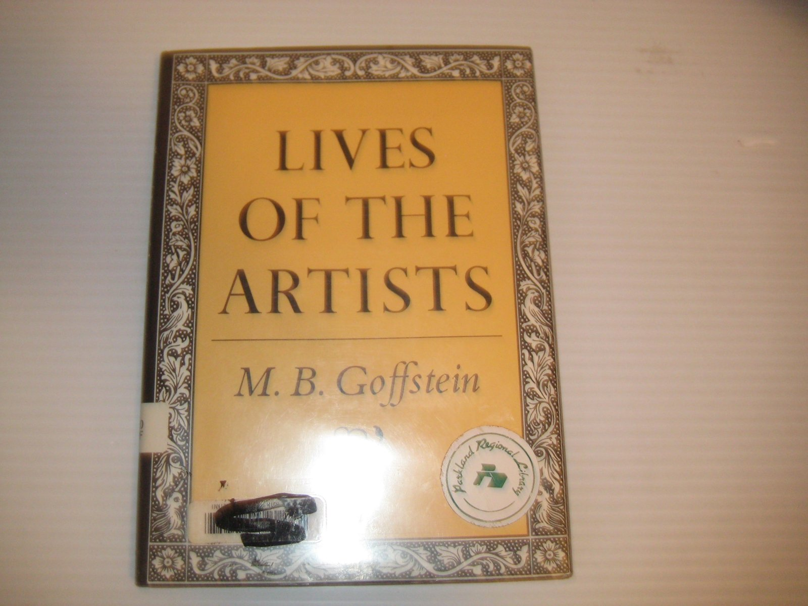 Lives of the Artists by Goffstein, M. B.